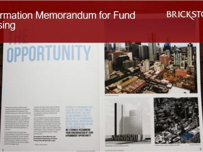 Information Memorandum for Fund Raising_Brickstone Africa