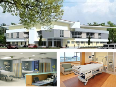private hospital suite development
