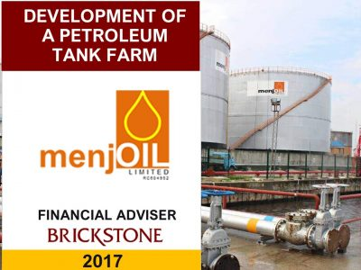 Tank Farm business plan