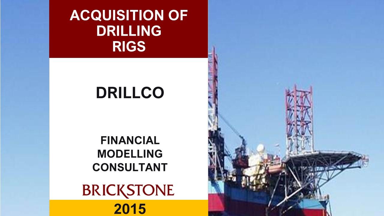 Debt Restructuring Drill Rigs