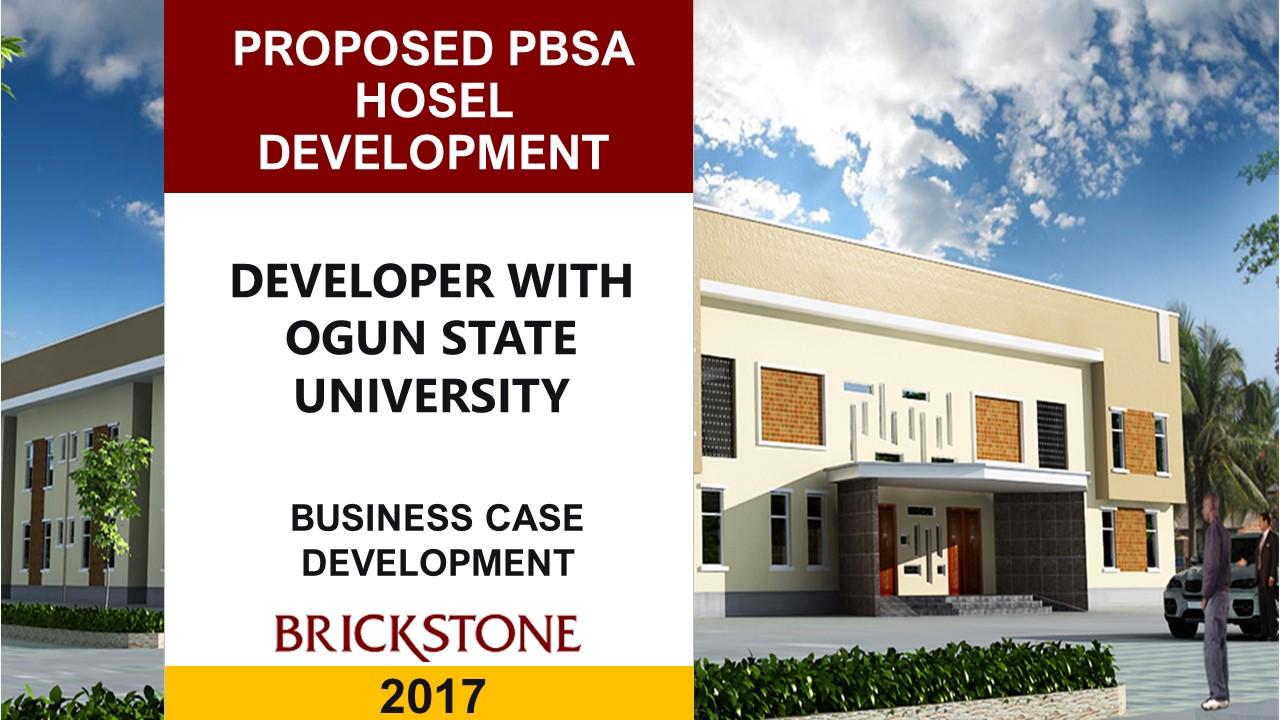 hostel development in ogun state