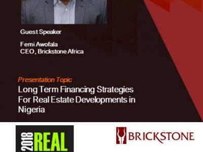 Long Term Financing Strategies For Real Estate Developments in Nigeria