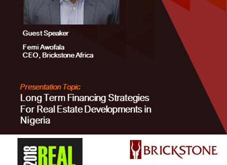 Long Term Financing Strategies For Real Estate Developments in Nigeria