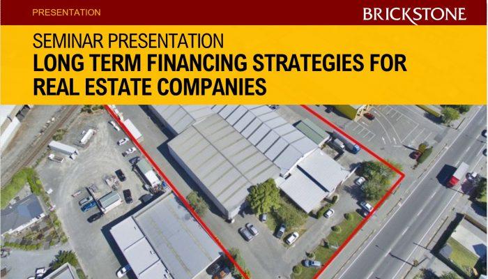 Long Term Financing Strategies Brickstone Africa