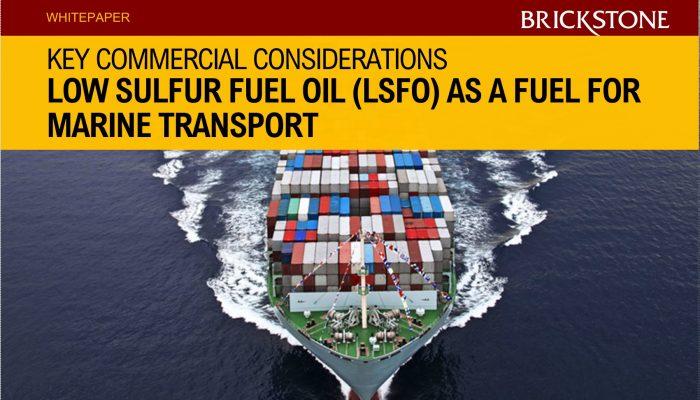 Low Sulfur Fuel Oil