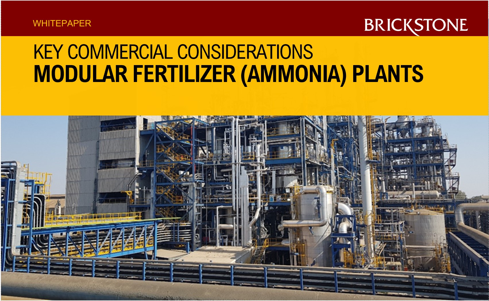 Modular Fertilizer Plants